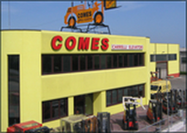 Zona comercial COMES S.R.L.