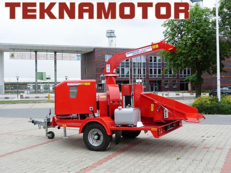 TEKNAMOTOR Skorpion 250 SDT/G biotrituradora nueva