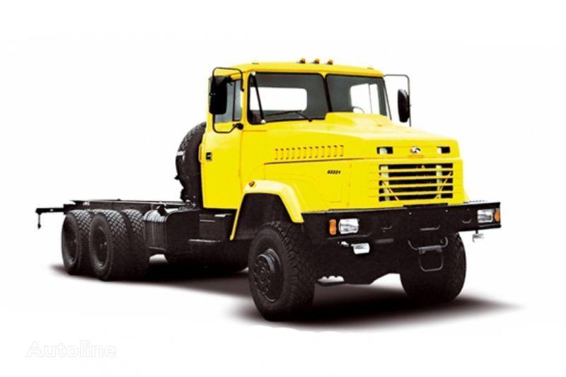KRAZ 63221 tip 2 camión chasis