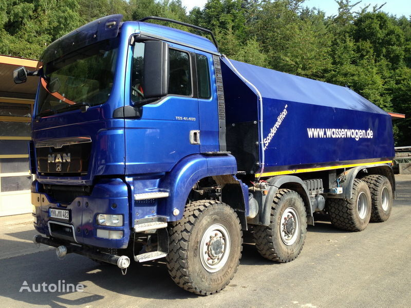 MAN TGS 41.480  camión cisterna