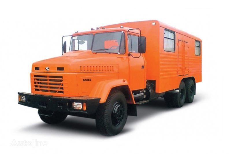 KRAZ 65053 masterskaya  camión militar