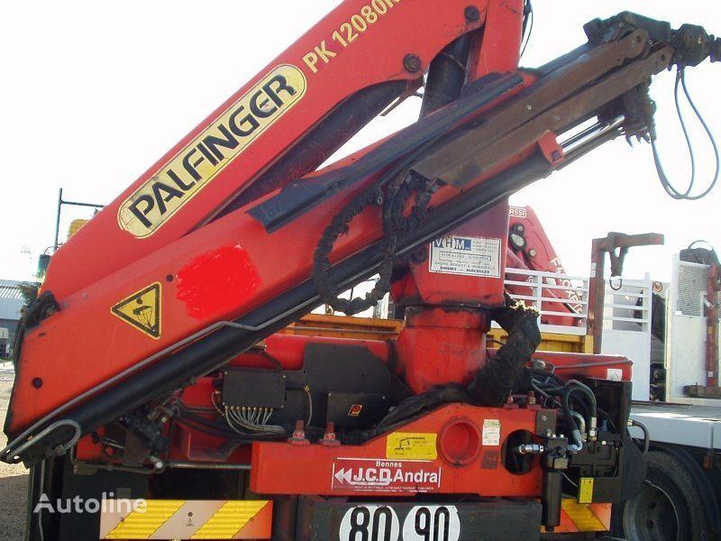 RENAULT KERAX 340 PALFINGER PK - 12080 camión plataforma