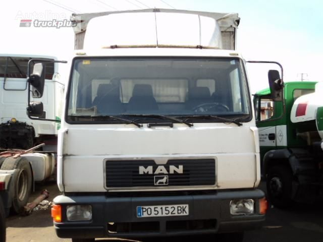 MAN 12 .224 LL-K camión toldo