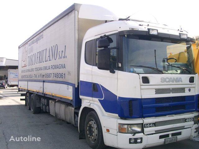 SCANIA 144L460 camión toldo