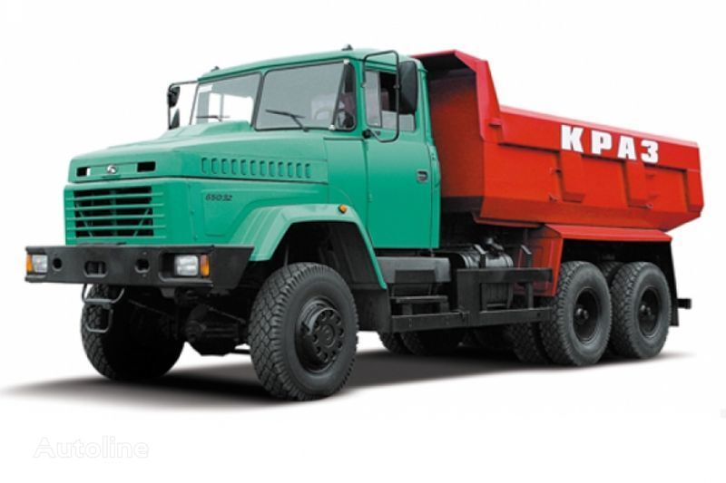 KRAZ 65032 tip 1 camión volquete