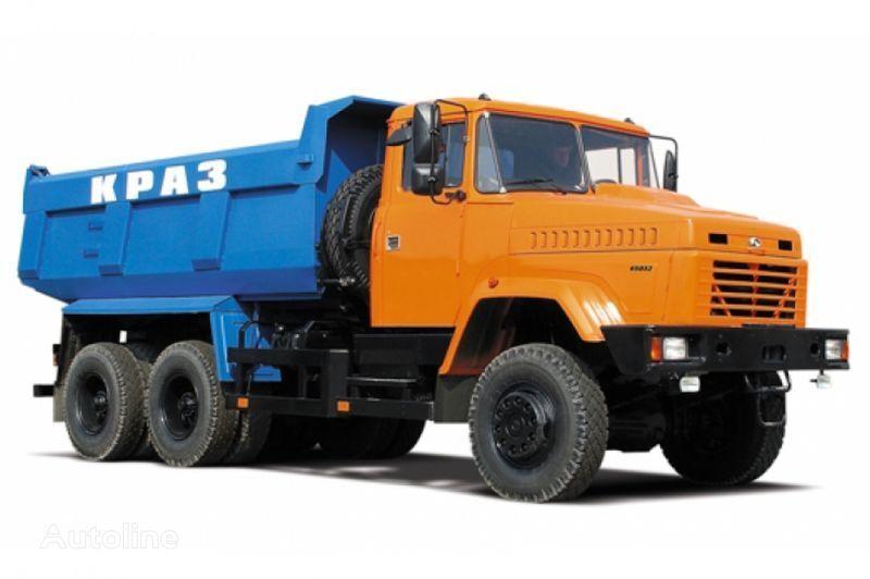 KRAZ 65032 tip 2  camión volquete