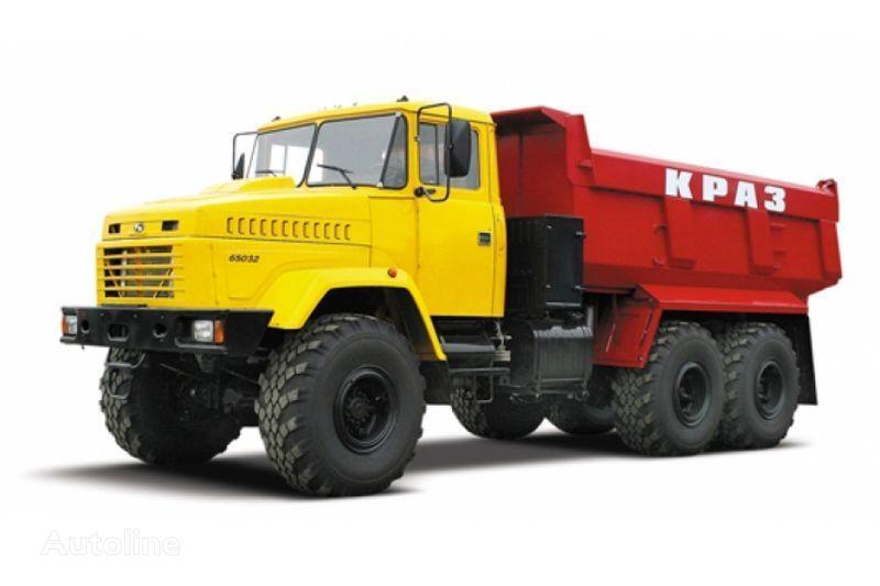 KRAZ 65032 tip 3  camión volquete