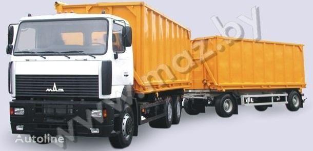 MAZ 6501A5 avtopoezd camión volquete nuevo