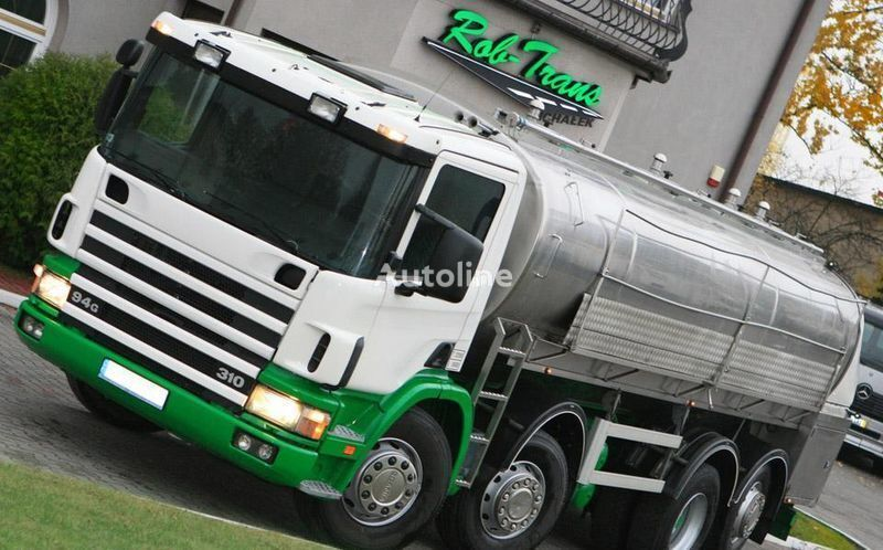 SCANIA 94G 310 CYSTERNA DO MLEKA transporte de leche