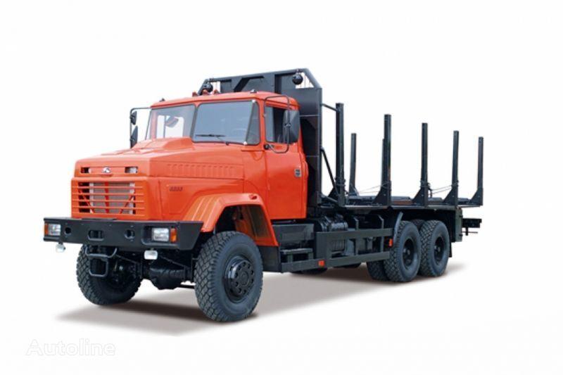 KRAZ 6233M6  transporte de madera