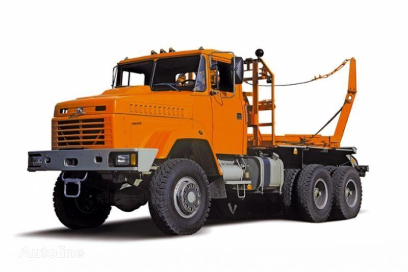KRAZ 64372 tip 2  transporte de madera