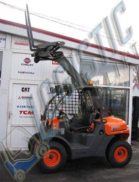 AUSA T144 cargadora telescópica nueva