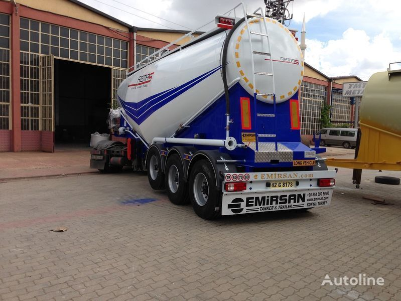 EMIRSAN Manufacturer of all kinds of cement tanker at requested specs  cisterna de cemento