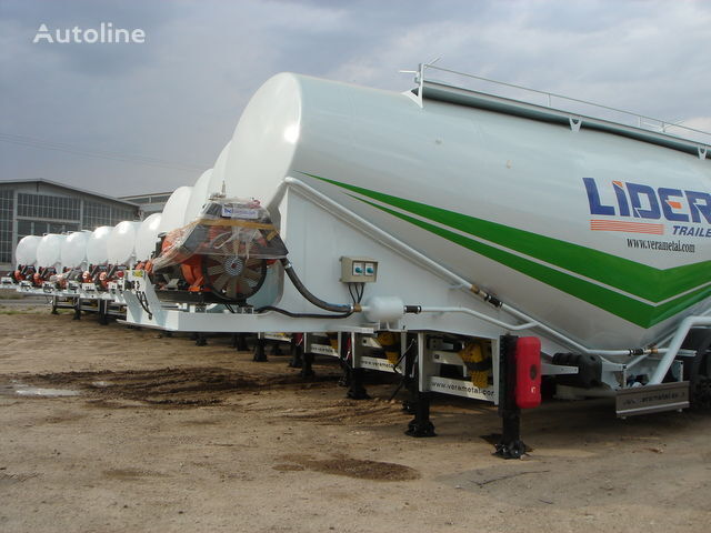 LIDER NEW ciment remorque 2017 YEAR (MANUFACTURER COMPANY) cisterna de cemento nueva