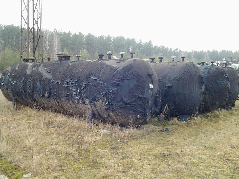 LPG TANKERS 25000L  4 UNITS cisterna de gas