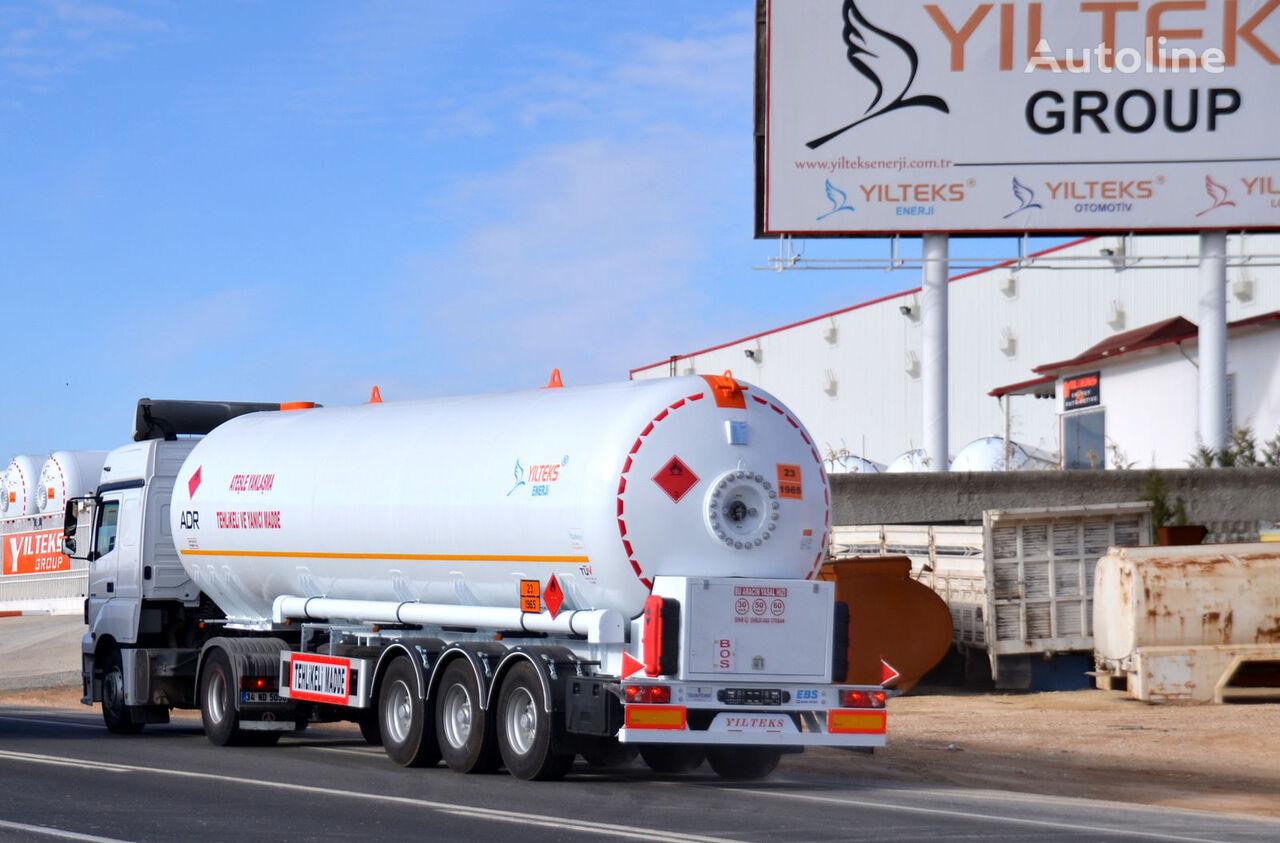 YILTEKS LPG TRAİLER - ADR cisterna de gas nueva