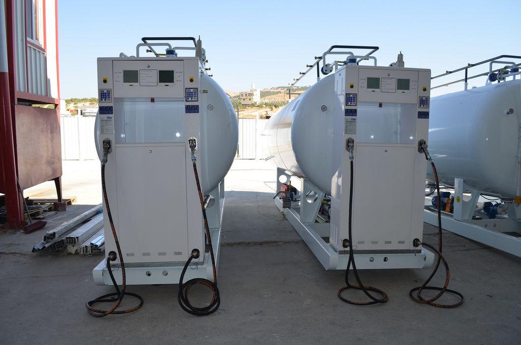 YILTEKS LPG skid Tank cisterna de gas nueva