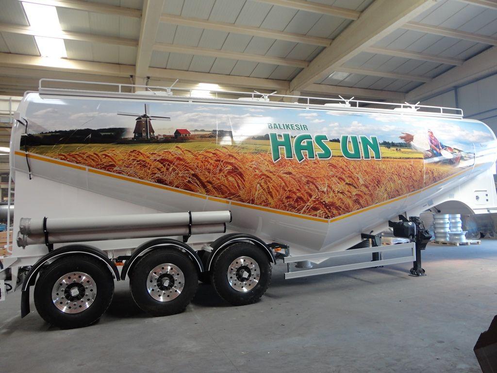 NURSAN Mukovoz cisterna para transporte de harina nuevo