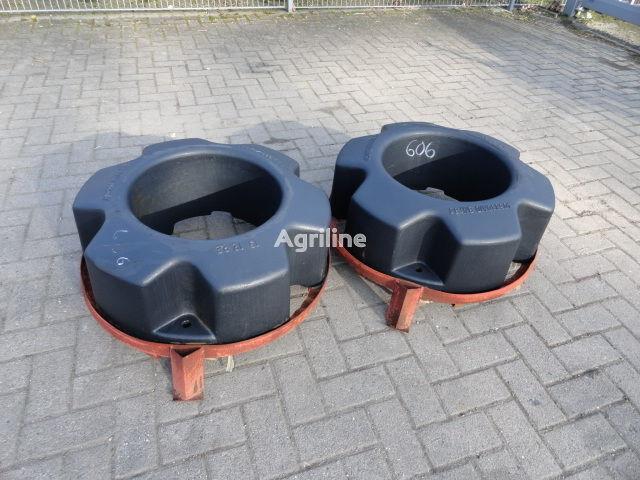 CASE IH Hinterradgewichte CNH 454 kg contrapeso nuevo