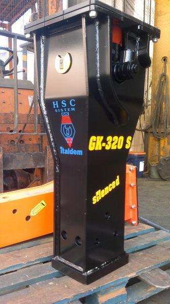 ITALDEM GK 320S martillo hidráulico nuevo