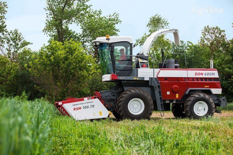 ROSTSELMASH DON 680M cosechadora de forraje nueva