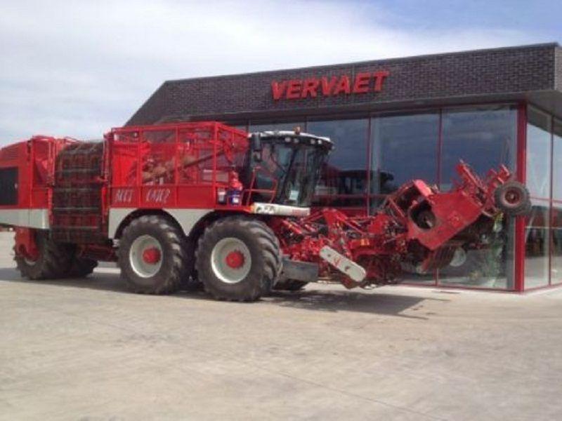 VERVAET 625 cosechadora de remolacha