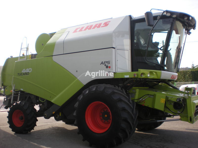 CLAAS b/u Tucano 440 iz Evropy cosechadora