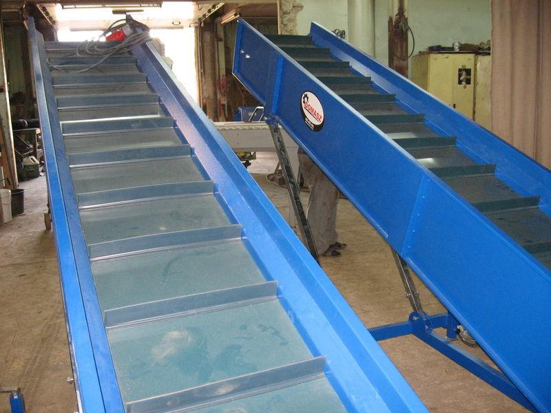 transporter (konveyer) máquina seleccionadora