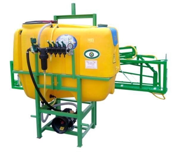 600 l/ 14 m pulverizador suspendido nuevo
