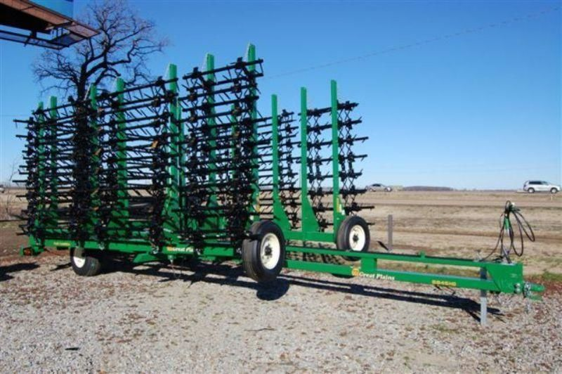 Zubovaya borona 16-ti ryadnaya Great Plains Flex Harrow rastra nueva