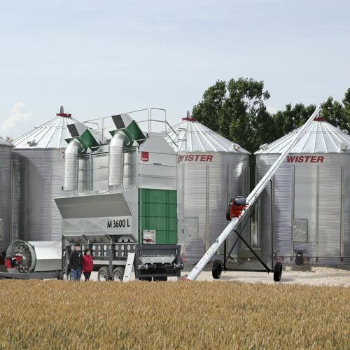 Mobilnye vakuumnye zernosushilki MEPU serii L secador de grano