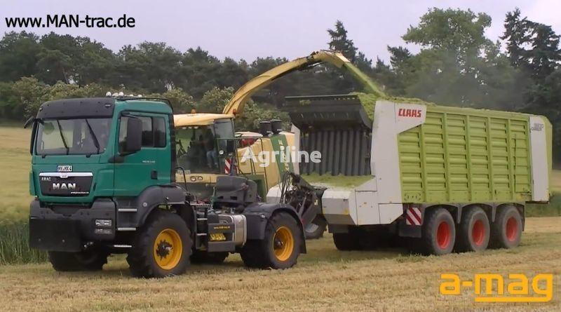 FENDT MAN Multifunctionstrac tractor de ruedas nuevo