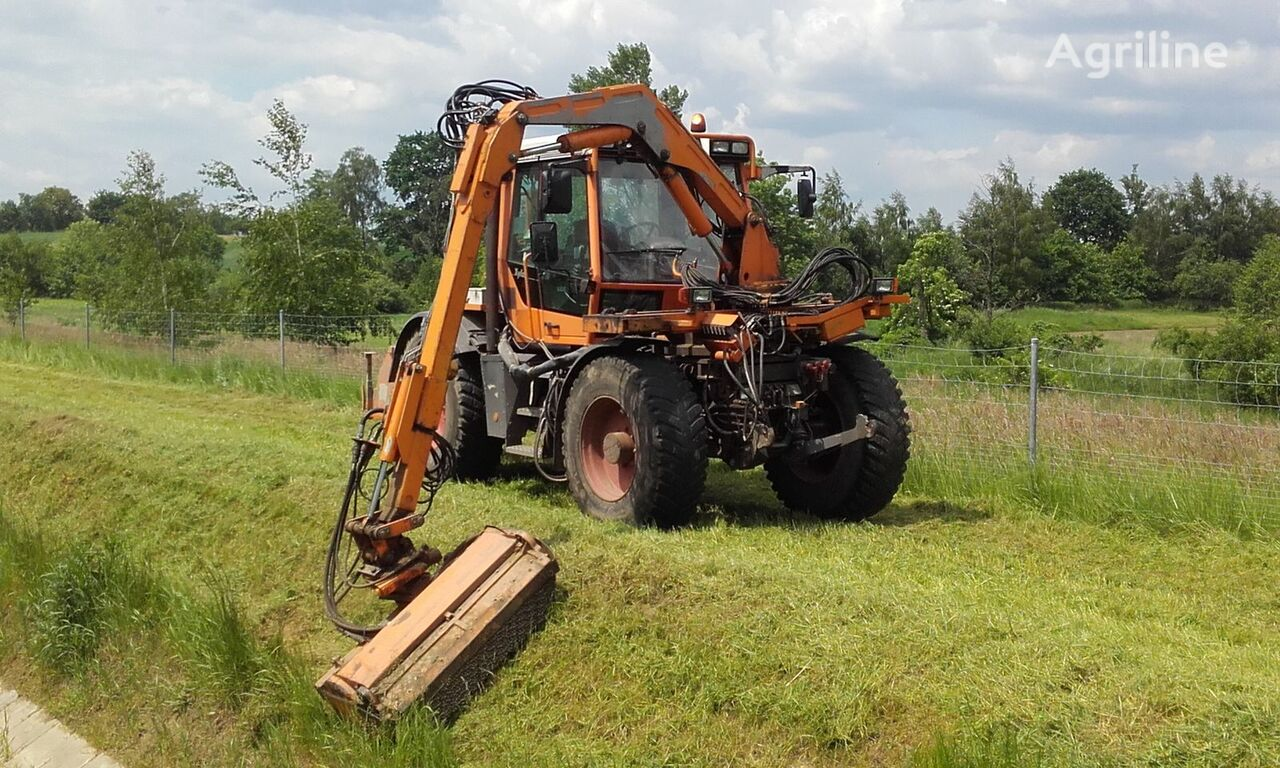 FENDT Xylon Kosiarka MULAG Schmidt Mähgeräte tractor de ruedas