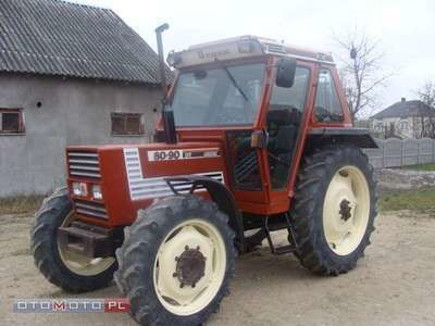 FIAT 80 90 DT tractor de ruedas
