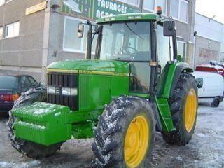 JOHN DEERE 6600 tractor de ruedas