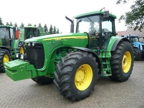 JOHN DEERE 8420 Gusinichnyy tractor de ruedas
