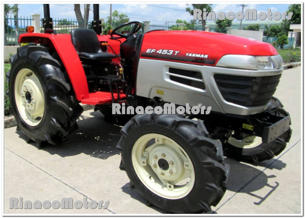 YANMAR GR453DT tractor de ruedas