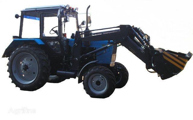 Frontalnyy chelyustnoy BAM-2021 na traktore MTZ tractor de ruedas
