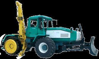 SMR-3 Specializirovannaya mashina dlya remontno-stroitelnyh rabot  tractor de ruedas