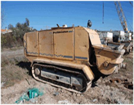 PUTZMEISTER BSC1005 bomba de hormigón estacionaria