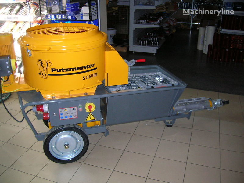 PUTZMEISTER S5 EV/TM bomba de hormigón estacionaria nueva