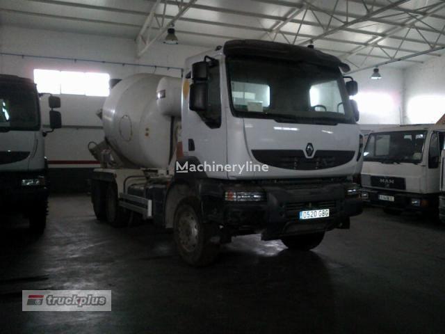 RENAULT KERAX 370 camión hormigonera