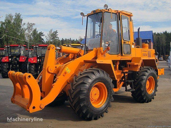 AMCODOR 332 S4 cargadora de ruedas nueva