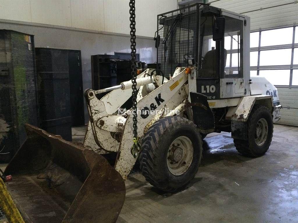 O&K O & K L10B cargadora de ruedas