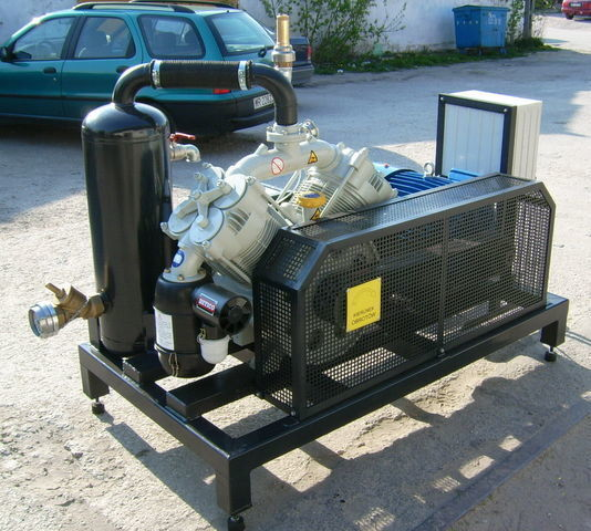 SB1 BETICO z silnikiem elektrycznym compresor