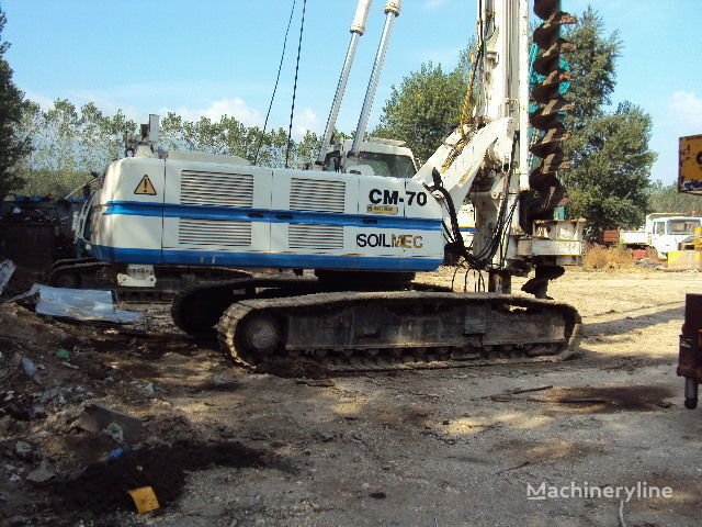 Soilmec CM 70. equipo de perforación