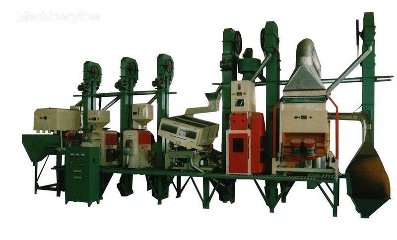 Risovyy zavod Kitay 18 - 150 tonn v sutki equipos industriales nuevo