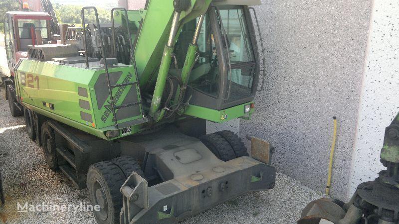 SENNEBOGEN 821 M excavadora de demolición