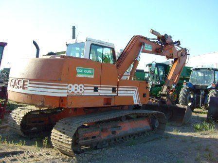 CASE 988 excavadora de orugas