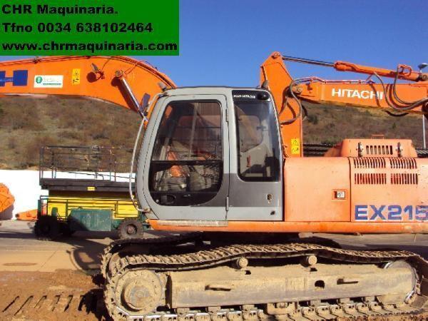 FIAT-HITACHI EX215 excavadora de orugas